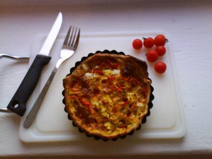 Recette de tartelettes tomates cerises  chèvre