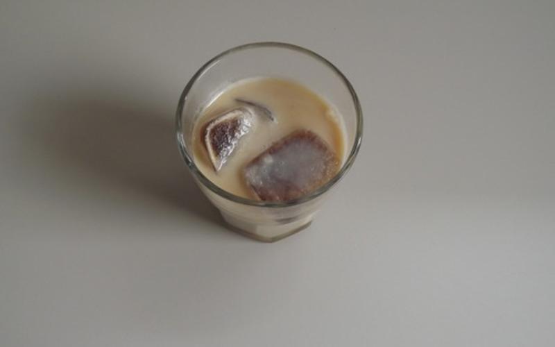 Recette café latté glacé pas chère et instantané > cuisine étudiant
