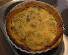 Recette tarte aux petits suisses, poireaux et chevre