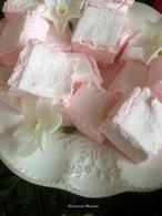 Recette de guimauves à la rose et miel de fleurs