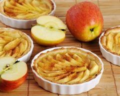 Recette tartelettes aux pommes, citron vert et thym