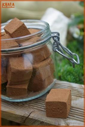 Recette de guimauves menthe-chocolat