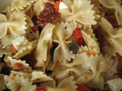 Recette de salade de pâtes méditerranéenne