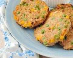 Recette croquettes de légumes à la dinde