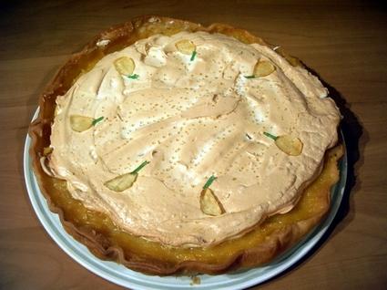 Recette de tarte au citron meringuée pour débutant