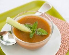 Recette gaspacho de tomates et céleri-branche