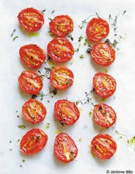 Tomates confites pour 6 personnes