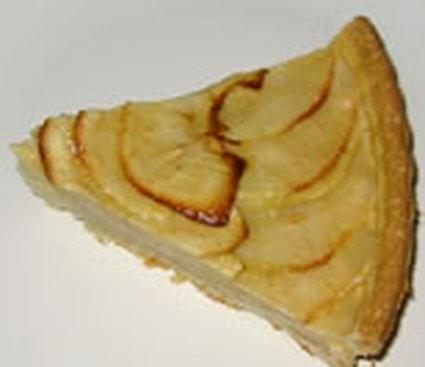 Recette de tarte aux pommes légère