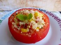 Recette de tomates farcies au taboulé