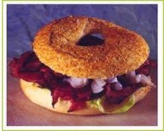 Recette sandwich en couronne à la viande