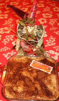 Recette de tiramisu aux biscuits roses, spéculoos et rhum