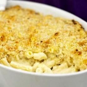 Macaroni au fromage gratiné pour 6 personnes