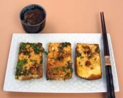 Recette tofu au gingembre au four