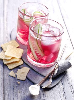Recette de cranberry tonic
