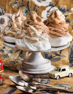 Gâteau mont-blanc pour 8 personnes