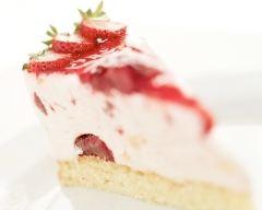 Recette cheese cake aux fraises