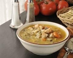 Recette soupe au poulet et riz à la brésilienne