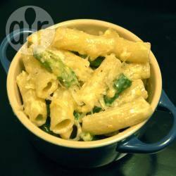 Recette rigatoni aux asperges et sauce à la crème citronnée ...