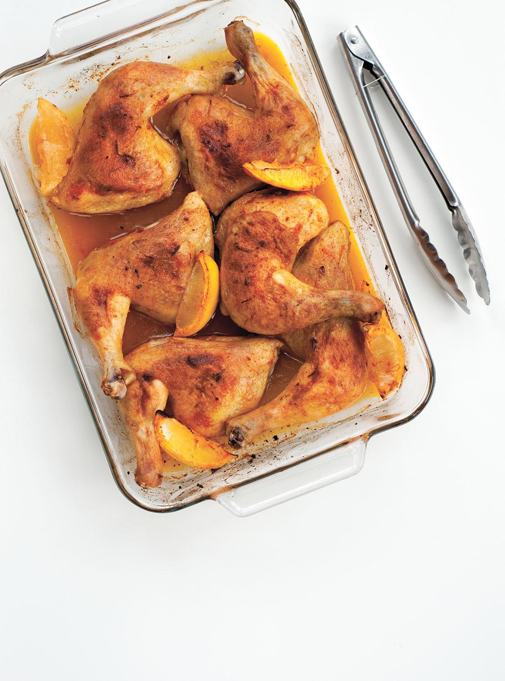 Cuisses de poulet au citron et au paprika | ricardo