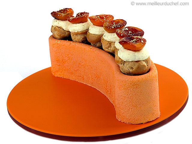 Demi-lune pêche abricot  recette de cuisine illustrée ...