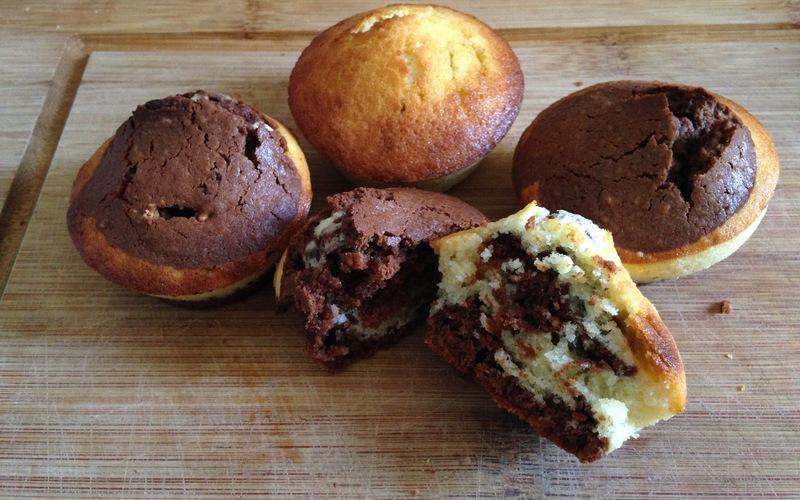 Recette cake marbré aux deux chocolats. économique et simple ...