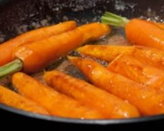 Recette carottes glacées