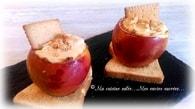 Recette de pommes au coeur de cheesecake