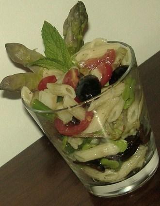 Recette de salade de pâtes printanière