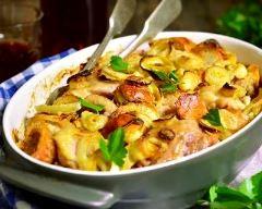 Recette cuisses de dinde et légumes rôtis au four