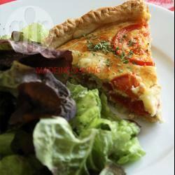 Recette quiche au thon, tomates et au chèvre – toutes les recettes ...