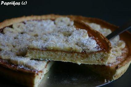 Recette de tarte à la banane et à la noix de coco