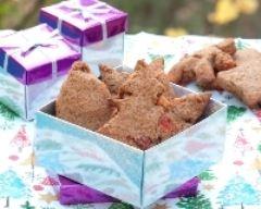 Recette biscuits aux farines de châtaigne et de sarrasin avec fruits ...