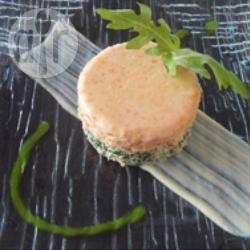 Recette médaillon de rouget roquette et poivron, crème anglaise au ...