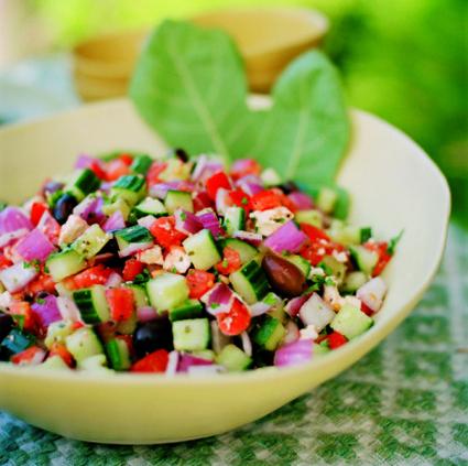 Recette de raita de légumes
