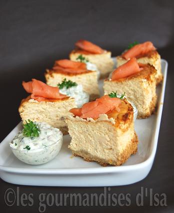 Recette de cheesecake au saumon fumé, sauce tartare