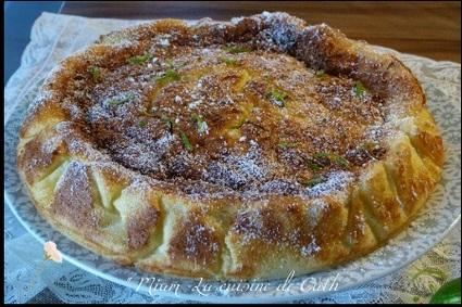 Recette de gâteau magique citron-citron vert et noix de coco