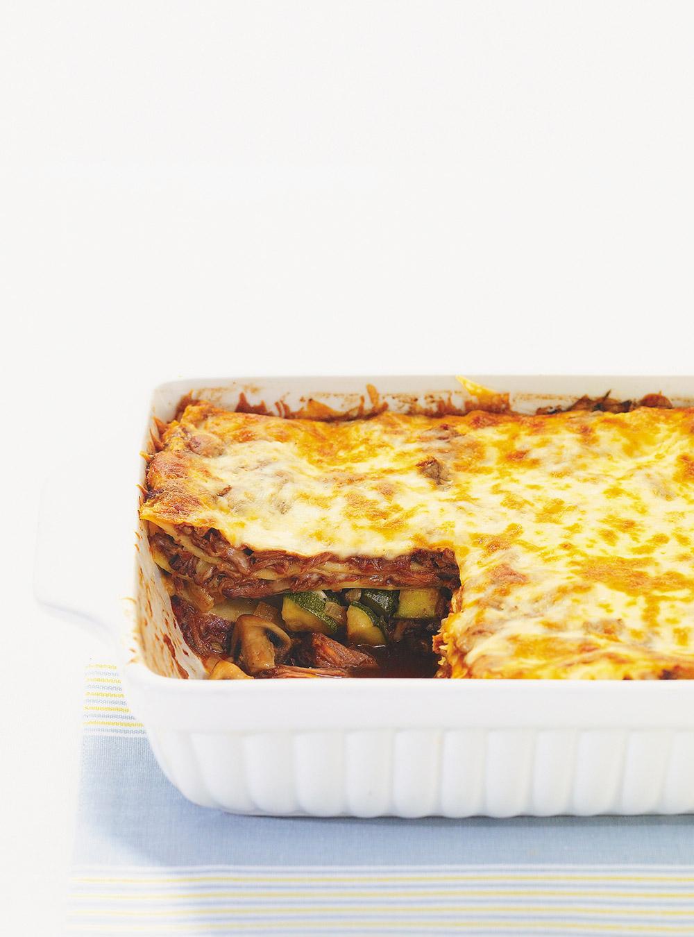 Lasagne au boeuf braisé   ricardo