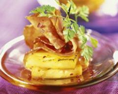 Amuses-bouches ananas et jambon cru | cuisine az