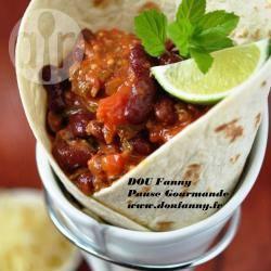 Recette burritos mexicains façon chili con carne – toutes les ...