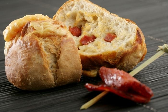 Recette de petits pains au chorizo et comté facile et rapide