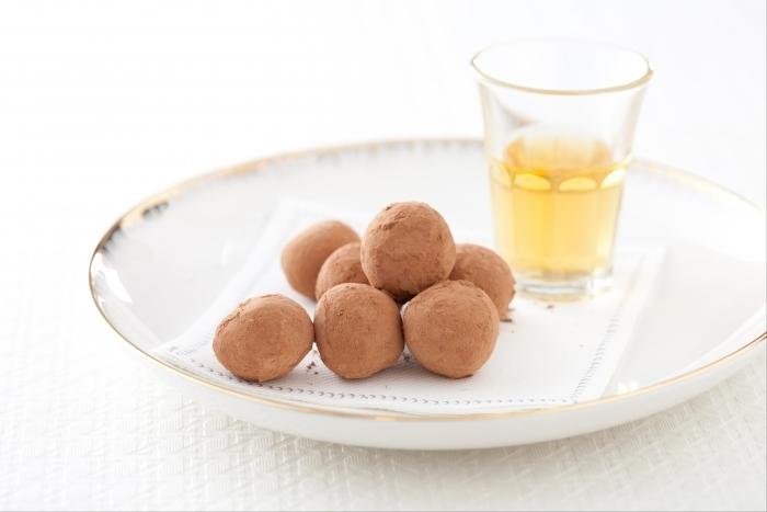 Recette de truffes au chocolat noir et whisky facile et rapide