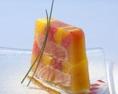 Recette terrine de saumon aux agrumes