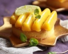 Recette pâte sablée à la vanille, crémeux au citron vert et purée de ...