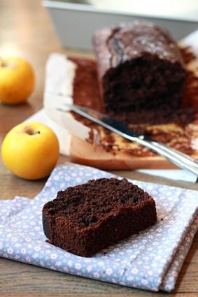 Recette de cake au chocolat noir allégé