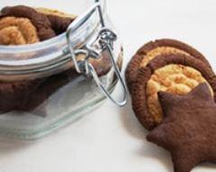 Recette sablés vanille et cacao