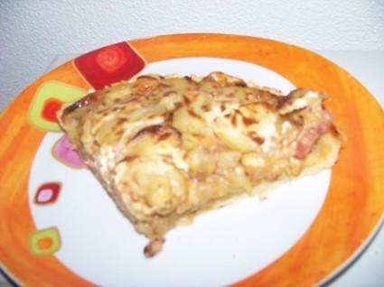 Recette de tarte endives/fromage à raclette