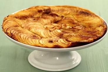 Recette de tarte fine aux pommes à la cannelle facile et rapide