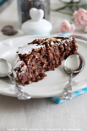 Recette de gâteau chocolat amandes italien torta caprese