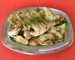Recette poisson grillé au fenouil