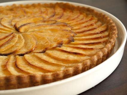 Recette de tarte aux pommes sur compote